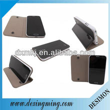 Black case for samsung s4 i9500,folio stand case for samsung S4