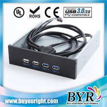 4 ports usb 3.0 front Panel international CD ROM hub