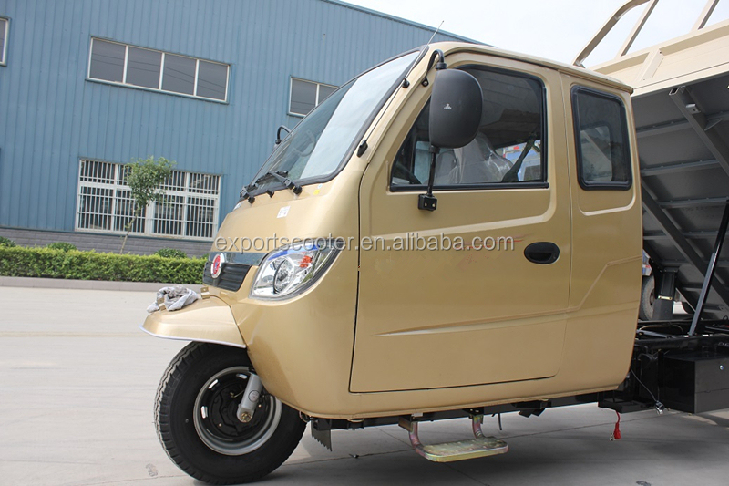 Hot 800CC cargo tricycles with cabin