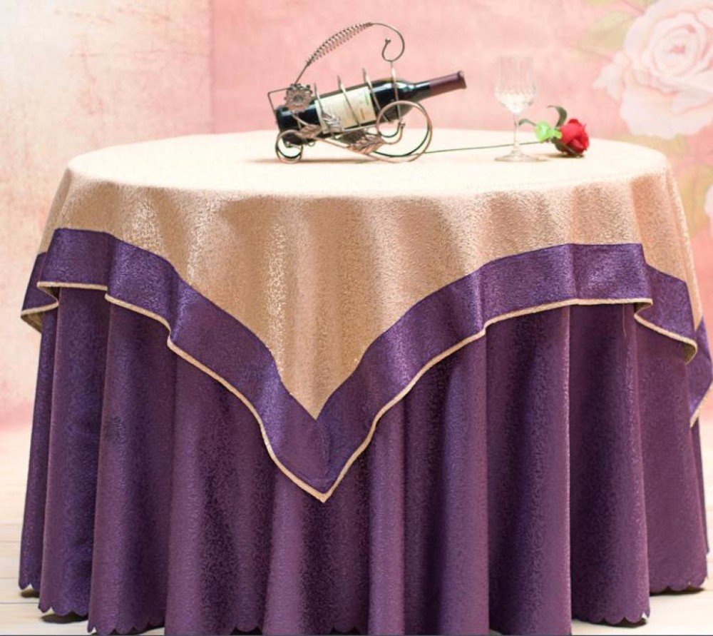 hot-selling wedding hotel table cloth