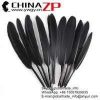 ZPDECOR Crafts Factory Wholesale Dyed Black Duck Cochettes Loose Feathers