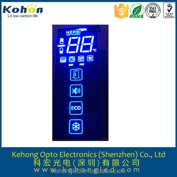 high brightness of led display for electric appliance(ROSH &SGS Approved)