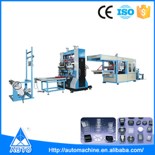 Pe pvc products automatic plastic sheet extrusion forming machine