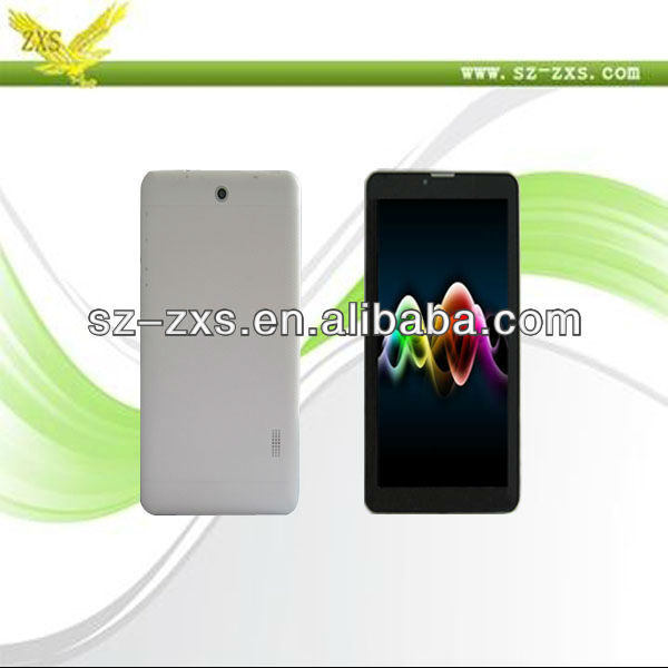 Zhixingsheng Cortex-A9 Process MTK6577 tablet pc dual core,gsm mobile phone tablet pc 1024*600, tablet pc 3g gps wifi