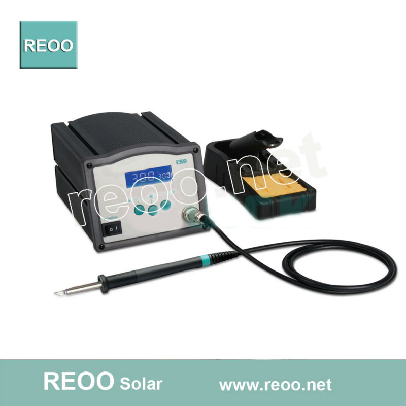 Electric soldering iron for string solar panels ( lead free electric iron )