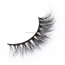 Low price 1000 pairs start cheap mink fur eyelashes with own packaging