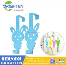 High quality cartoon animal metal clothes hook for coat racks