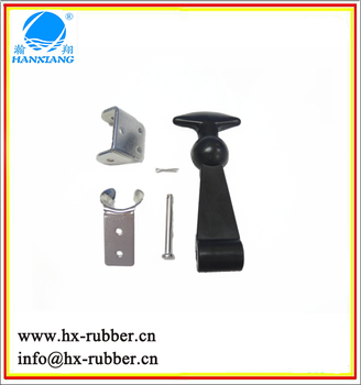 T shape rubber toggle latch/ t handle latch/ rubber latch
