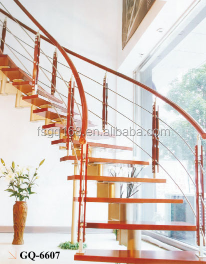 luxury interior wood stairs for house design