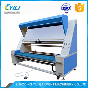 electronic fabric inspection rolling and measuring machine