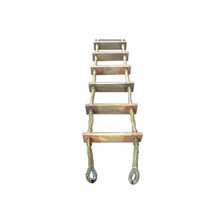 marine customzied wooden embarkation ladders