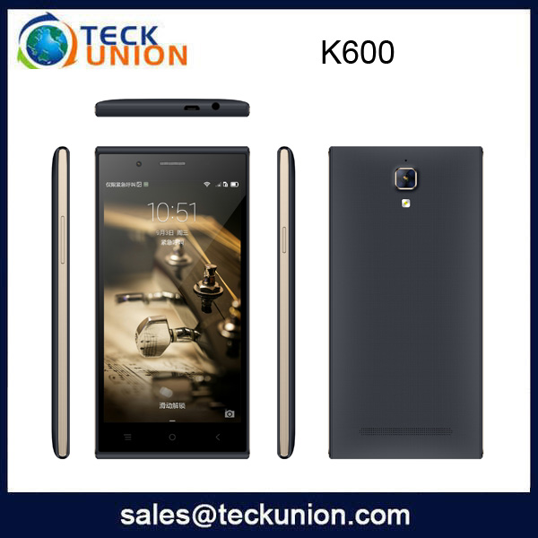 K600 MTK6580 5.0''cheap smart wholesale mobile phone