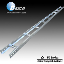 Aluminium cable ladder size 300/450/600x100mm