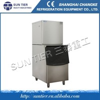 60kgs Snow Ice Maker With High Output Germany Bitzer Compressor