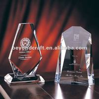 Good factory price crystal shield prize