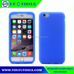 Colorful Silicone Bumper Case For iPhone 6 6s plus Back Case