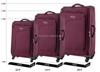 Stock EVA Spinner Trolley Case Luggage