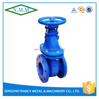 Cast Iron BS3464 Non Rising Stem, Metal seated Gate Valve handles, PN16