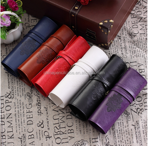 Pencil Box Korea's creative stationery bags wholesale pencil cases Twilight pu leather pen bag