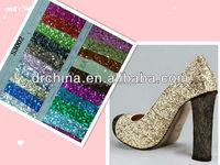 New style colorful glitter decal fabric cosmetic glitter wholesale shining materials