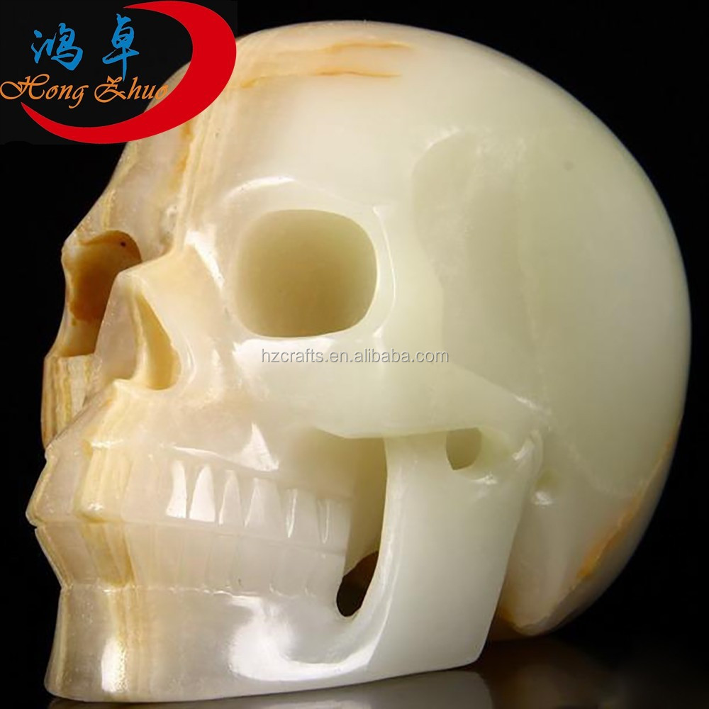 Wholesale afghanistan jade crystal skulls for sale