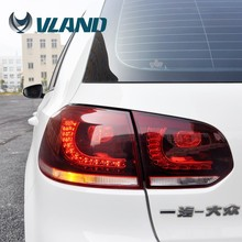 CE CCC Emark certification car lights car accessories vw golf 6 led tail light factory