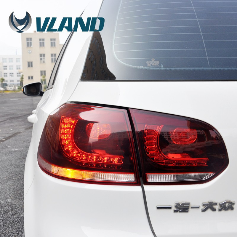VLAND manufacture for car rearlamp for golf 6 for back light 2008-2013 Led Taillamp