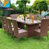 Wholesale Patio Garden Rattan Outdoor Furniture
