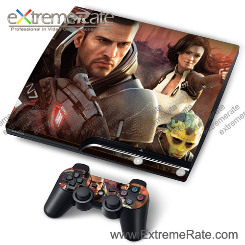 The Most Popular Game Accessories Decal Cover For PS3 Slim Console Controller With No MOQ