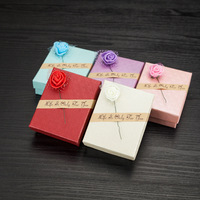 Wholesale ring pendant jewellery package set earrings gift box