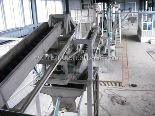Sea salt processing equipment