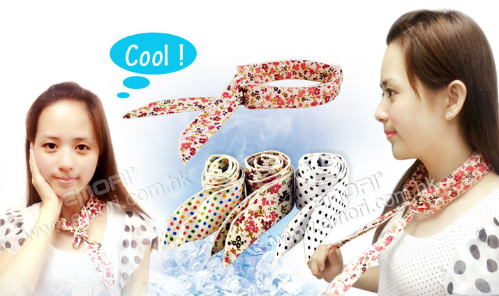 New design custom patterns non-toxic magic neck cooling ice scarf for sport