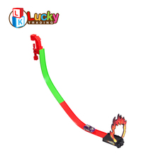 top sale jumping hoops kids powerful alloy car long railway toy for exciting game
