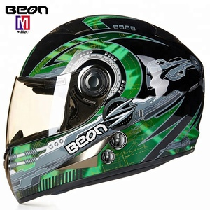 2018 New motocross off road full face helmets ece approved off road dirt bike riding gears