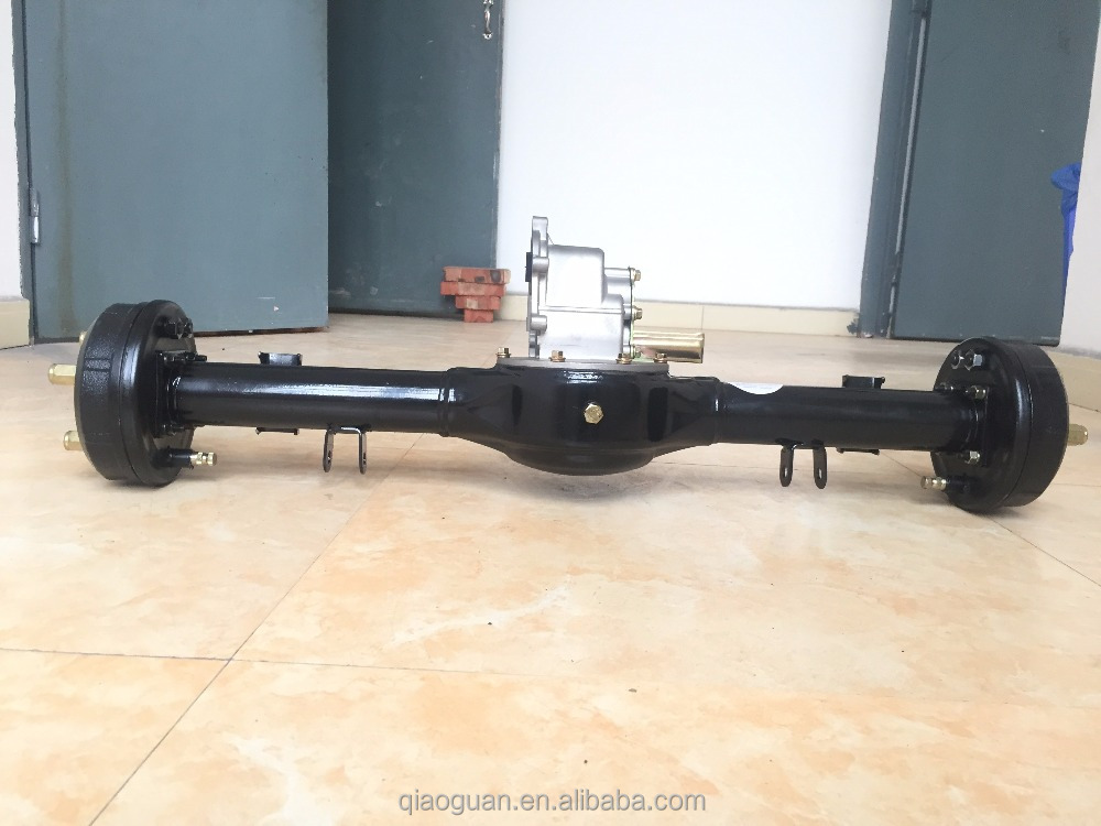 Electric Tricycle 3 Wheeler Rear axle 1000w Three Wheel Motorcycle QiaoGuan OEM