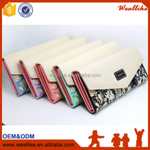 Long type Women Wallets MOQ 1 pc candy color fashion lady holder bag