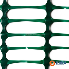 GREEN Highly Visible HDPE Portable Plastic Safety Fence with low price