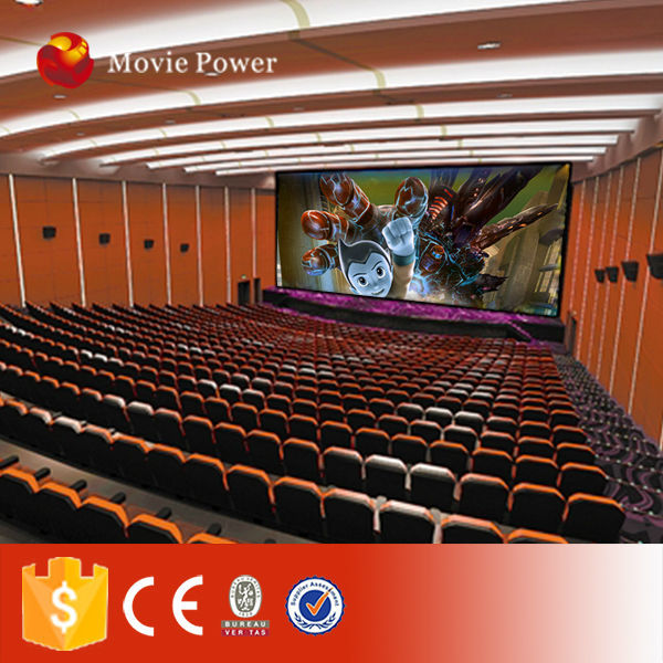 Interactive game 18 seats 5d dynamic cinema well liked in Iraq