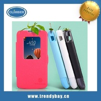 Nillkin brand flip leather case cover for LG L90 D415