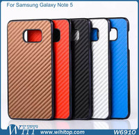 for Samsung Galaxy Note 5 Case Hard Plastic Carbon Fiber Phone Accessories Wholesale