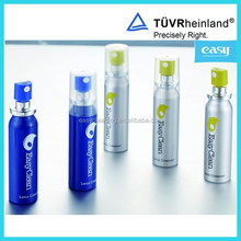 20ml Optical Lens Cleaner in Aluminium spray-painted bottle cleaning for glasses/laptop/cameras/pad/TV screen