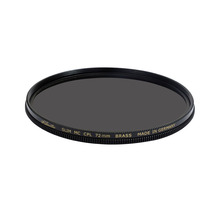 Kleartec SLIM CPL Circular Polarizer Digital Filter BRASS 67mm72mm77mm82mm