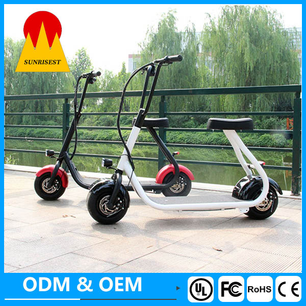 350W 36V popular electric scooter harley made in China factory