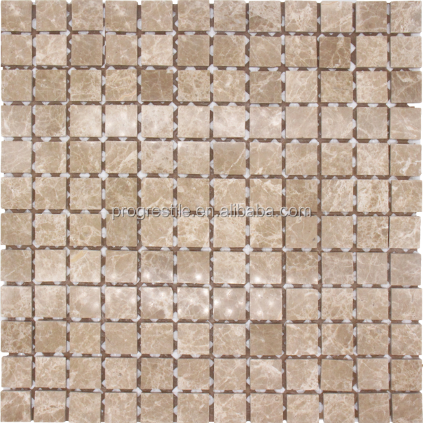 glass mix stone mosaic tile for interior decoration(PMSC130)