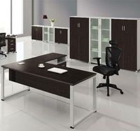 Foshan Manufacture Excellent mancraft office counter table design(HX-NT3277)