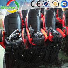 5D Cinema Dynamic 3 Seats 3D 4D 5D 6D Cinema Theater Movie Motion Chair Seat
