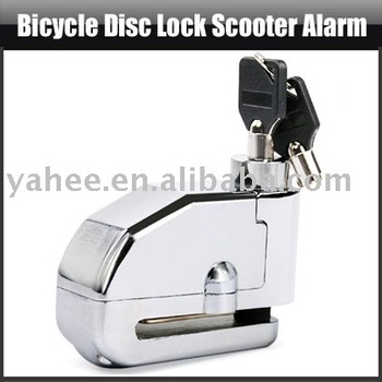 Motorcycle Bicycle DISC Lock Scooter Alarm,YFO201A