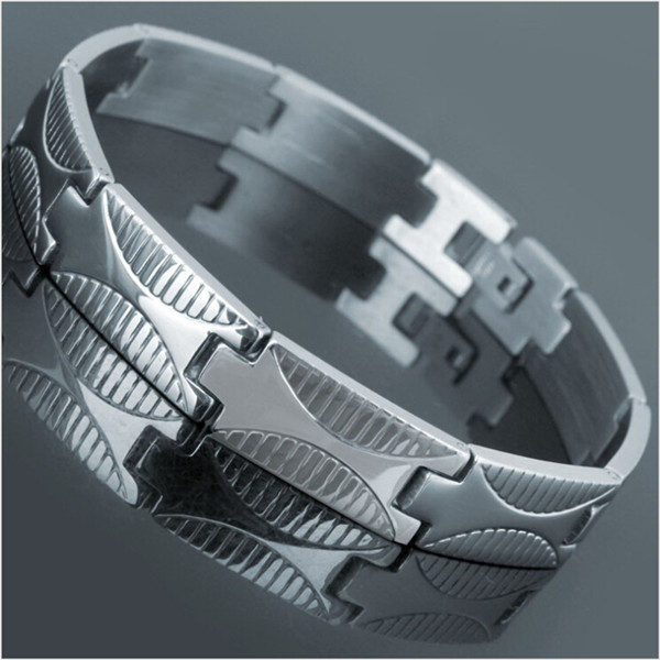 Yiwu Aceon 316L Surgical Steel High Polished Cheap Stock Bracelet website designing and <strong>development</strong>