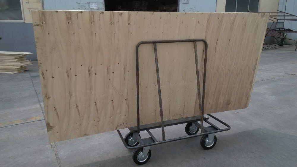 moving drywall cart