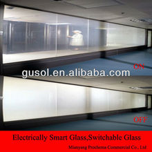 cheap electric privacy film for office partition,intelligent switchable smart PDLC Film, Transparent/opaque switchable film